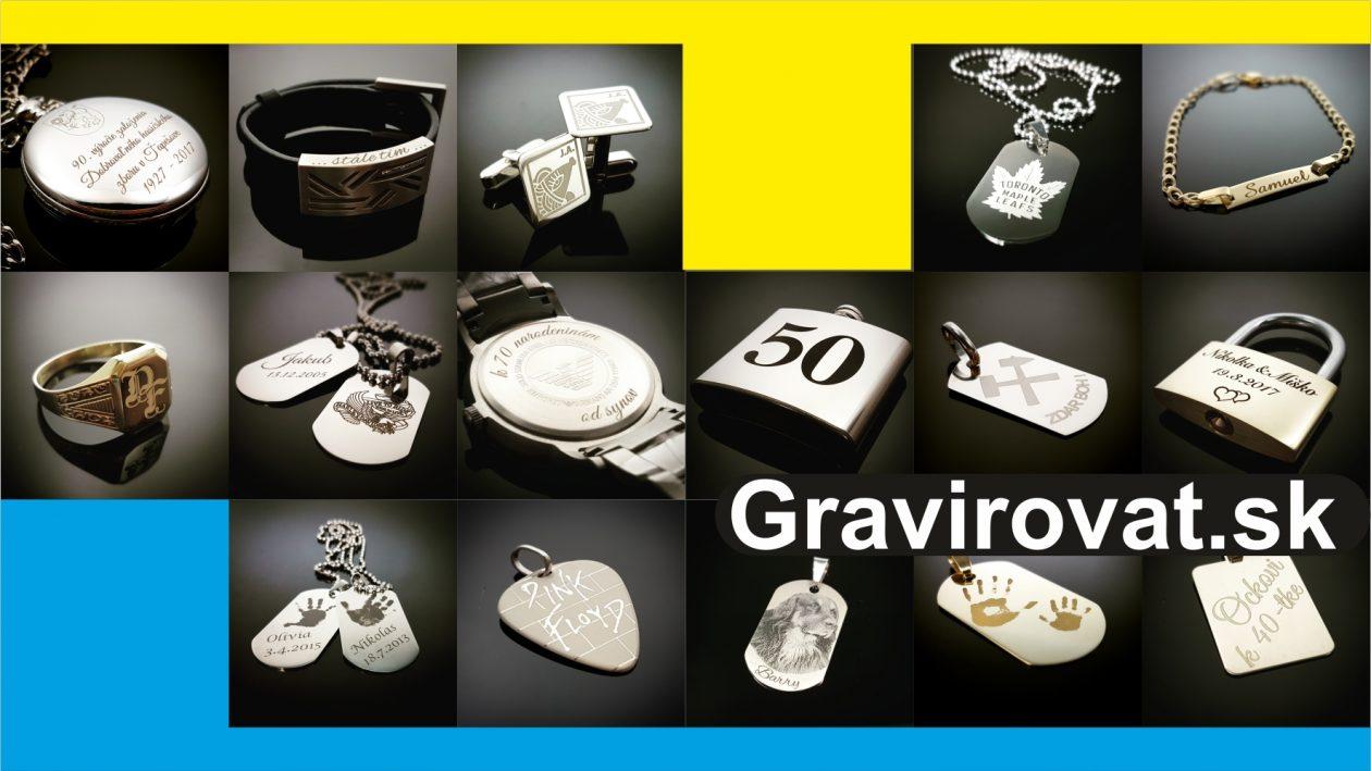 Gravirovat.sk | gravírovanie šperkov a drobných kovových darčekov